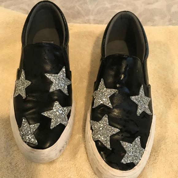 Sneaker Vintage Havana black with silver star